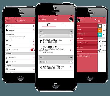 Gesundheits-App von Pocketweb